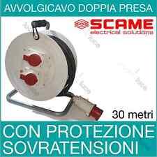AVVOLGICAVO INDUSTRIALE PLUS 2PR/1SP 380V  4X2,5 MT 30 - SCAME ART 746.3010-091