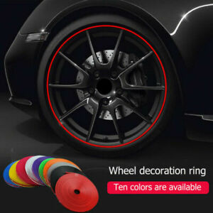Universal Alloy Wheel Rim Protector Rubber Guard Car Tuning Max Protection 26FT