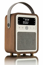 View Quest VQ Monty DAB+ Digital Radio Bluetooth & Alarm Clock Walnut