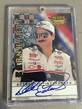 Dale Earnhardt Sr. 1999 High Gear wheels cert. authentic autographed auto card