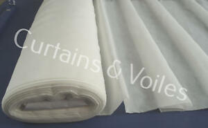 Ivory Voile Fabric by the metre 150cm and 300cm Wedding Event  Ceiling Drapes