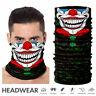 Joker Skull Motorcycle Cycling Neck Scarf Half Face Mask Bandana Ski Headband