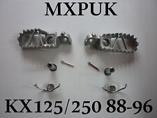KX250 1991 FOOTPEGS GENUINE KAWASAKI KX125 1991  FOOT PEGS OEM MXPUK (368)