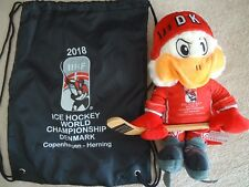 Official Mascot & Sports Bags Black Ice Hockey World Cup 2018 Denmark