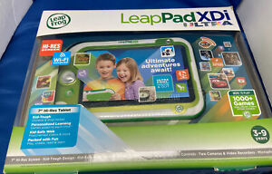 LeapPad XDi Ultra Educational Learning Tablet System Green 7'' ~Open Box