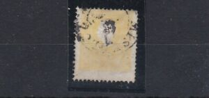 AUSTRIA (0b47) SG 22 - 1858 - 2k Yellow - Very good used - Off centre