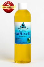 CAMELINA OIL UNREFINED ORGANIC VIRGIN COLD PRESSED RAW PREMIUM FRESH PURE 4 OZ
