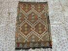 Anatolian  Turkish Kilim Rug,Home living Rug,Bohemian Wool Rug,Vintage Rug