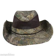 CAP - BRIMMED SAFARI HAT REALTREE XTRA® CAMO MESH CROWN HUNTING HAT1300SM-R327