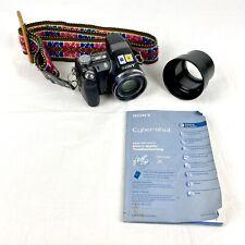 Sony DSC-H5 7.2 MP Digital Camera 12x Zoom w/ Battery, Strap, Manual SteadyShot
