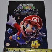 Super Mario Galaxy Premiere Edition Startegy Guide Book for Nintendo Wii