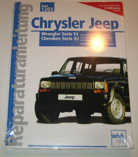 Repair Manual Jeep Wrangler Yj + Cherokee XJ Gasoline + Turbo Diesel