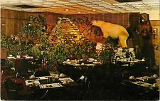 1967 Emley's Fine Foods Restaurant, Marion, Indiana Postcard