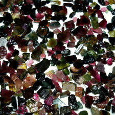 Natural Multi Tourmaline Rocks Mix Size & Shape Cabochon Loose Gemstone Lot