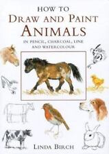 How to Draw and Paint Animals in Pencil, Charcoal, Line and-ExLibrary