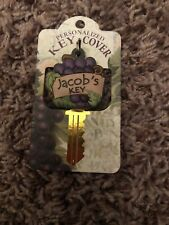 Jacob's Key H&H Personalized Key Cover Grapes Wine Vineyard *NEW*