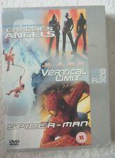 27933 DVD - Charlies Angels/Vertical Limit/Spider-man [NEW & SEALED]  2004