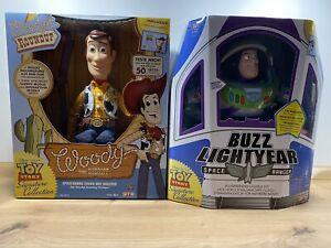 Disney Toy Story Signature Collection Woody & Buzz Lightyear Deutsche Version !