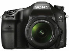 Sony Alpha A68 Digital SLT Camera 18-55mm II Lens
