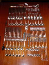 CHRISTOFLE FIDELIO  silverplate Flatware 12 PEOPLE Set   142 pcs