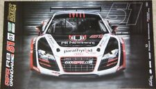 2012 APR Motorsport Audi R8 GT Rolex 24 Grand Am postcard