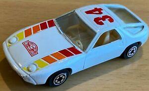 Yatming No 1034 White Porsche 928 Car - Rallye Monte Carlo 34 - VNM