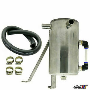 Hilux Vigo Oil Catch Can Tank Stainless Steel 2.5L 2KD Diesel Turbo 16mm 2005++