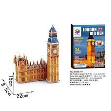 3D Puzzles Jigsaws World Famous Building Model Cardboard London Big Ben