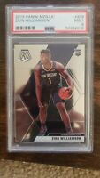 2019 Panini Mosaic #209 Zion Williamson RC Rookie Mint PSA 9