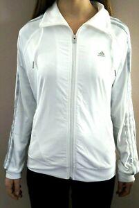 Adidas Trainingsanzug Knit Suit Sportanzug NEU Jacke Hose weiss/schwarz Gr. 36