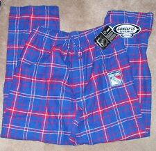 NEW NY New York Rangers Flannel Loungewear Pajama Pants XL X-Large Men NEW NWT