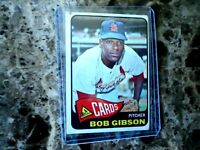 1965 TOPPS BOB GIBSON ST LOUIS CARDINALS #320