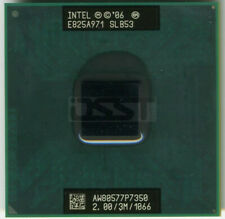 Intel Core2 Duo P7350 SLB53 Mobile CPU Processor Socket P PGA 2GHz 3MB 1066Mhz
