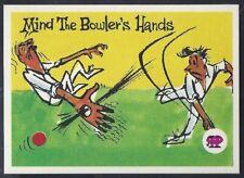 SCANLENS (AUS)-KRAZY KRICKET-#50- CRICKET - MIND THE BOWLERS HANDS