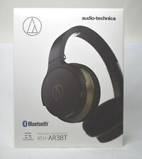 audio-technica-Sound Reality ATH-AR3BT BK Bluetooth Wireless Headphones