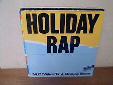 """EP 12"""" MAXI - M.C. MIKER """"G"""" & DEEJAY SVEN - Holiday rap - EX/EX"""