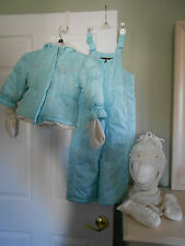 Me Jane Baby Toddler Girls 2 Piece Snow Suit w/ Accessories Size 4 EUC