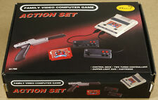 Nintendo NES Famicom Famiclone PAL Game Console 22 Built-in Games New Old Stock