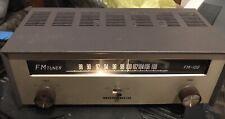 Vintage MONARCH FM-100 Tube Tuner MONAURAL DELUX w/Original Box EX COND Works!