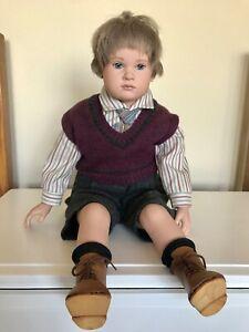 """Sigikid Leroy 24"""" doll limited edition by Sabine Esche"""