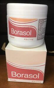 BORASOL Antiseptic Powder / Polvo Antiseptico 4oz