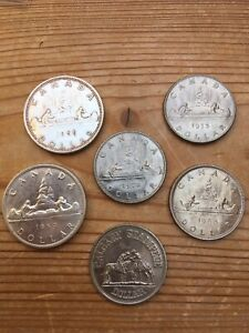 canadian coins % silver