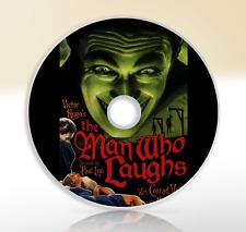 The Man Who Laughs (1928) DVD Classic Drama Silent Movie / Film Conrad Veidt