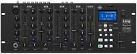 IMG Stage Line MPX-40DMP Stereo-DJ-Mischpult mit integriertem MP3-Spieler