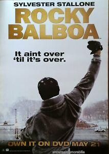 ROCKY BALBOA Original 2006 POSTER Sylvester Stallone UK movie store poster