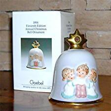 1994 Goebel Angel Bell Annual Christmas Tree Ornament 51203