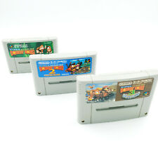 Lot Super Donkey Kong 1 2 3 DK Country - Super Famicom / SNES / SNIN NTSC-J JAP