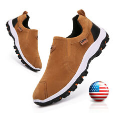 Men's Athletic Shoes Casual Sneakers Breathable Comfortable Slip on Walk Loafers