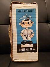 Vintage 1970's Milwaukee Brewers Empty Bobblehead Box My Favorite Baseball Team