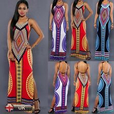 Summer Long Dress Womens Celeb Sexy Beach Boho Maxi Gown Party Dresses bodycon